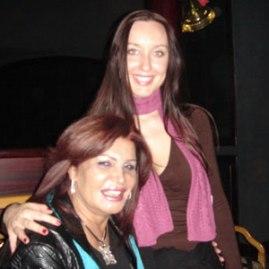 Met de legendarische Egyptische Buikdanseres Nagwa Fuad