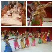 Eveline vierde haar 8ste verjaardag in de dansstudio met een Buikdansfeestje. Het was super gezellig!