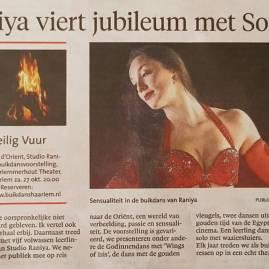 Haarlems Dagblad 24 oktober 2018