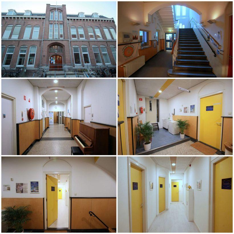 Ingang Buikdans Studio Raniya Cultuurhuis Klein HeiligPand