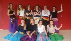 Buikdansworkshop voor Vrijgezellenfeestje