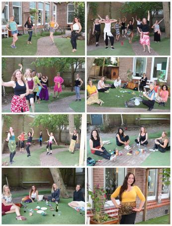 Buikdans Studio Raniya Buikdansen in de Binnentuin